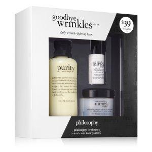 goodbye wrinkles trial set