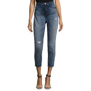 Alana High Rise Crop Skinny Jean by J Brand at Gilt