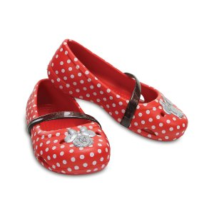 Crocs Red Polka Dot Lina Minnie™ Mary Jane | zulily