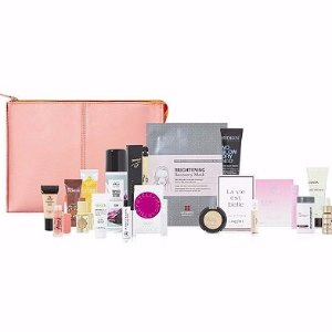 FREE Peach Pop Beauty Bag with any $75 purchase, a $150 value!