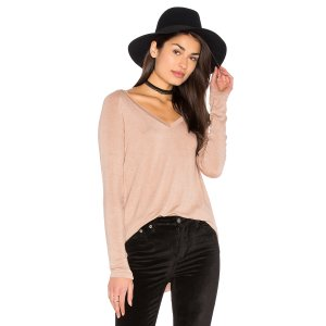 American Vintage Albaville Tee in Mousse   REVOLVE