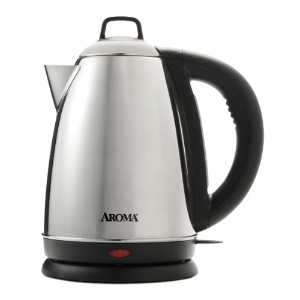 AROMA 1.5L Electric Stainless Steel Water Kettle (2 Year Manufacturer Warranty)