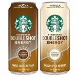 Starbucks Doubleshot Energy Coffee, Mocha and Vanilla, 15 Fl Oz(pack of 12)
