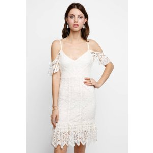 Plenty by Tracy Reese Off-Shoulder Lace Dress   South Moon Under