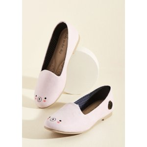 Oso Adorable Loafer in Blush