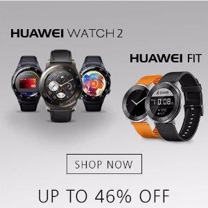 最高直降$60Best Buy周年庆典 Huawei 智能手表/手环大促