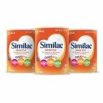 Similac Advance 婴儿1段配方奶粉2.25磅 3罐装