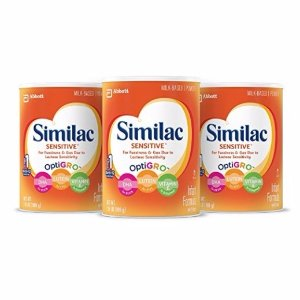 $56.32Similac Advance Infant Formula with Iron, Powder, One Month Supply (3 Packs of 36 Ounces)