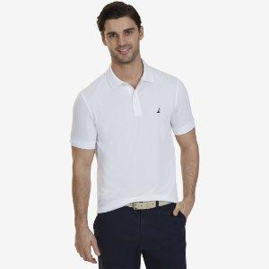 Tech Jersey Polo Shirt - Coral Fire   Nautica