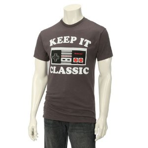 Nintendo Guys Keep It Classic Screen Tee: Shopko