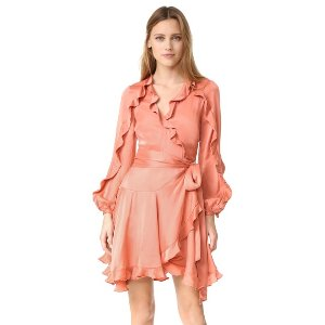 Zimmermann Winsome Flutter Robe Dress | 15% off first app purchase with code: 15FORYOU