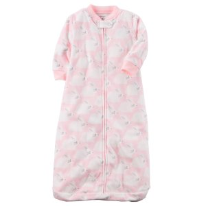 Carter's Infant Girls' Fleece Sleep Bag - Bunny - Clothing - Baby Clothing - Baby Pajamas