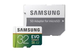 $9.99Samsung 32GB EVO Class 10 microSD 闪存卡带适配器