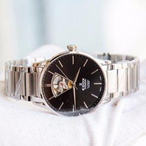 $349EDOX Men's Les Vauberts Automatic Watch  85011-3N-NIN