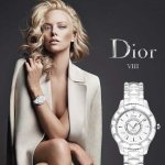 EXTRA $400 OFF DIOR VIII Diamond White Ceramic and Steel Ladies Watch