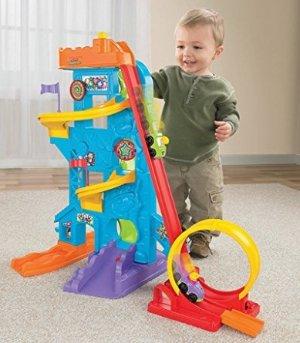 Fisher-Price Little People Loops 'n Swoops Amusement Park Playset