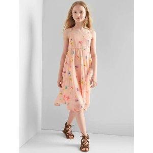 Floral ladder-lace dress | Gap