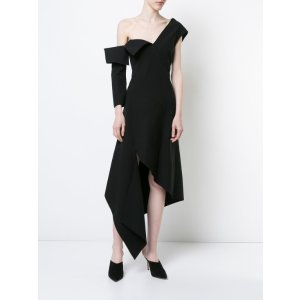 Monse – One Shoulder Tuxedo Dress | Kirna Zabête