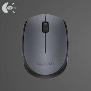 Logitech M170 910-004425 Grey Wireless Mouse