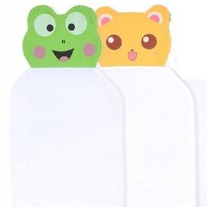 Easem Animal Face Cotton Sweat Absorbent / wicking Towel, 2 Packs