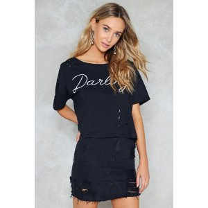 Oh! Darling Distressed Tee | Shop Clothes at Nasty Gal!