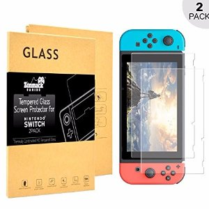 Nintendo Switch Tempered HD Glass Screen Protector Kit (2-Pack)