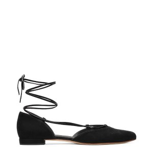 Gilligan Lace-Up Flats - Shoes | Shop Stuart Weitzman