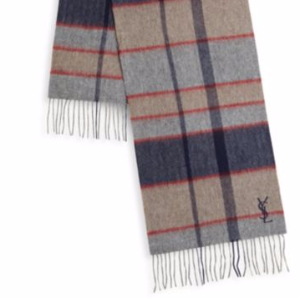 额外7折 全场$56.34Yves Saint Laurent, Versace 男士羊毛围巾折上折热卖