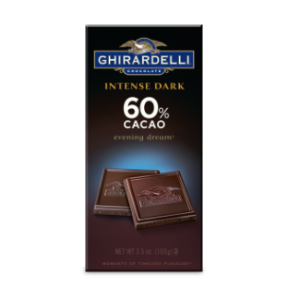 Dark Chocolate 60% Cacao Bar (3.5 oz.) | Ghirardelli