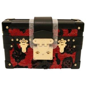 (5) red Cloth LOUIS VUITTON Handbag - Vestiaire Collective
