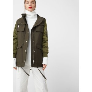 Quilted multi-pocket parka - Women | OUTLET USA