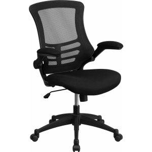 $15.09(原价$57.31)Flash Furniture 中椅背办公椅带可翻折扶手