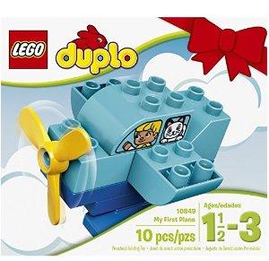 $2.5 凑单品LEGO DUPLO 10849 乐高得宝系列我的第一架飞机套装