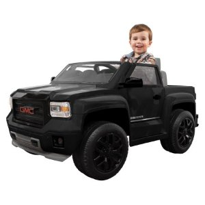 Rollplay GMC Sierra Blackout Series Truck 6-Volt Battery-Powered Ride-On