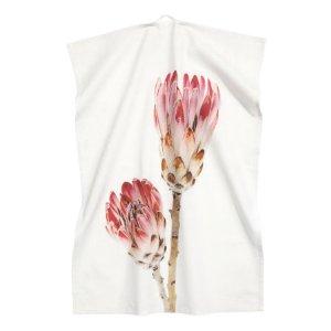 Tea Towel | White/floral | H&m home | H&M US