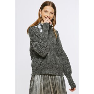 Chelsea Ribbed Sweater in Grey TP1589