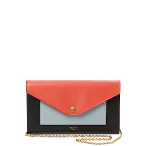 Colorblock Leather Crossbody Bag by Céline at Gilt