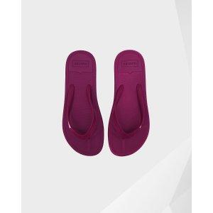 Womens Purple Flip Flops