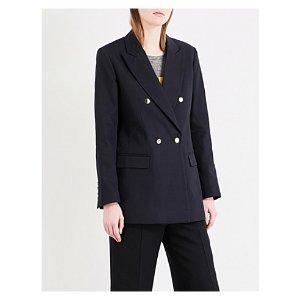 SANDRO - Oversized cotton blazer