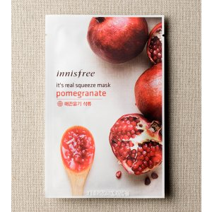 SKIN CARE - It's real squeeze mask - pomegranate | innisfree