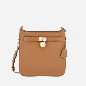 MICHAEL MICHAEL KORS Women's Hamilton Medium North South Messenger Bag - Acorn - Free UK Delivery over £50