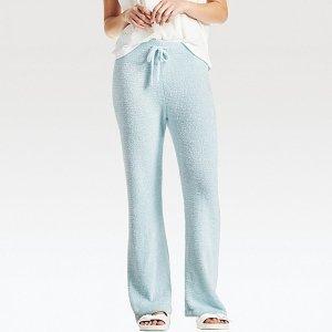 WOMEN FLUFFY YARN LOUNGE PANTS