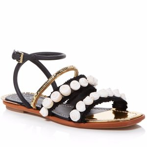 Tory Burch Sinclair Seashell Sandals | Bloomingdale's
