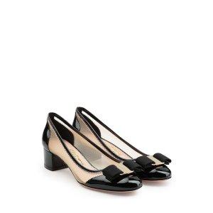 Patent Leather Kitten Heels - Salvatore Ferragamo
