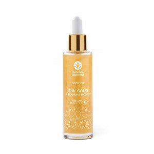 24K Gold & Manuka Honey Body Oil - Manuka Doctor