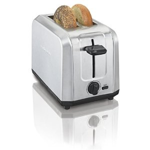 $9.43Hamilton Beach 22910 Brushed Stainless Steel 2-Slice Toaster
