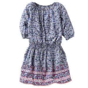 Kid Girl Floral Dress   OshKosh.com
