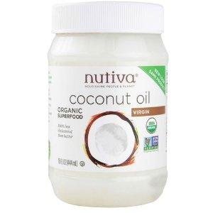 Nutiva Organic Virgin Coconut Oil - 15 fl oz - eVitamins.com