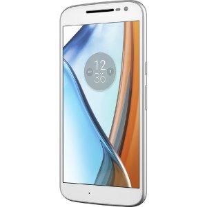 Moto G4 XT1625 32GB (Unlocked, White)