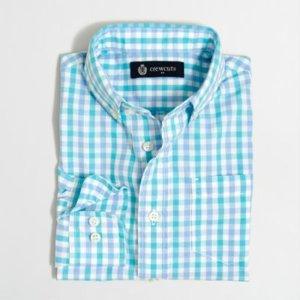 Boys' Patterned Washed Shirt : Boys' Shirts   J.Crew Factory